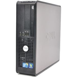 Компьютер б/у Dell OptiPlex 780/380 SFF, Slim/Тонкий корпус, 2 ядра, DDR3-2Gb, HDD-160Gb