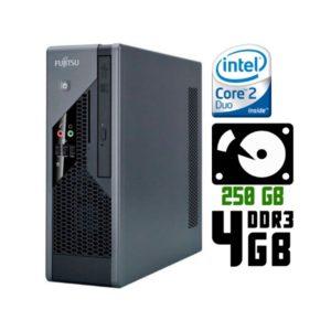 Компьютер б/у Fujitsu Esprimo C5731, Ultra Slim корпус, 2 ядра, DDR3-4Gb, HDD-250Gb