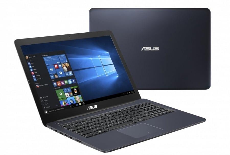 Черный ноутбук Asus