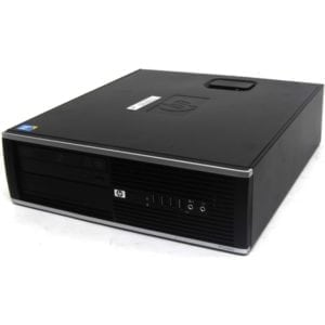 Компьютер б/у HP Compaq 8100 Elite SFF, Slim/Тонкий корпус, Core i3, 4 ядра, DDR3-4Gb, HDD-250Gb