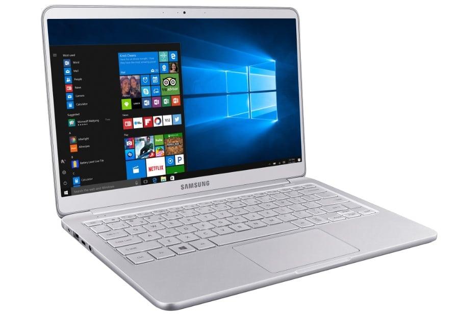 Ноутбук Samsung на Windows 10