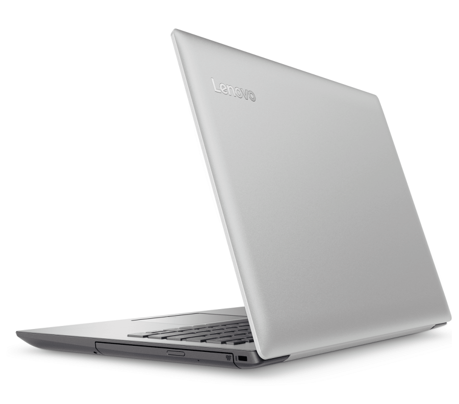 Ноутбук Lenovo в сером корпусе