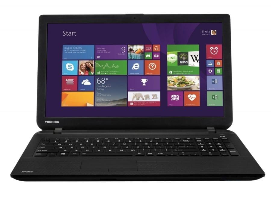 Ноутбук Toshiba на Windows 8