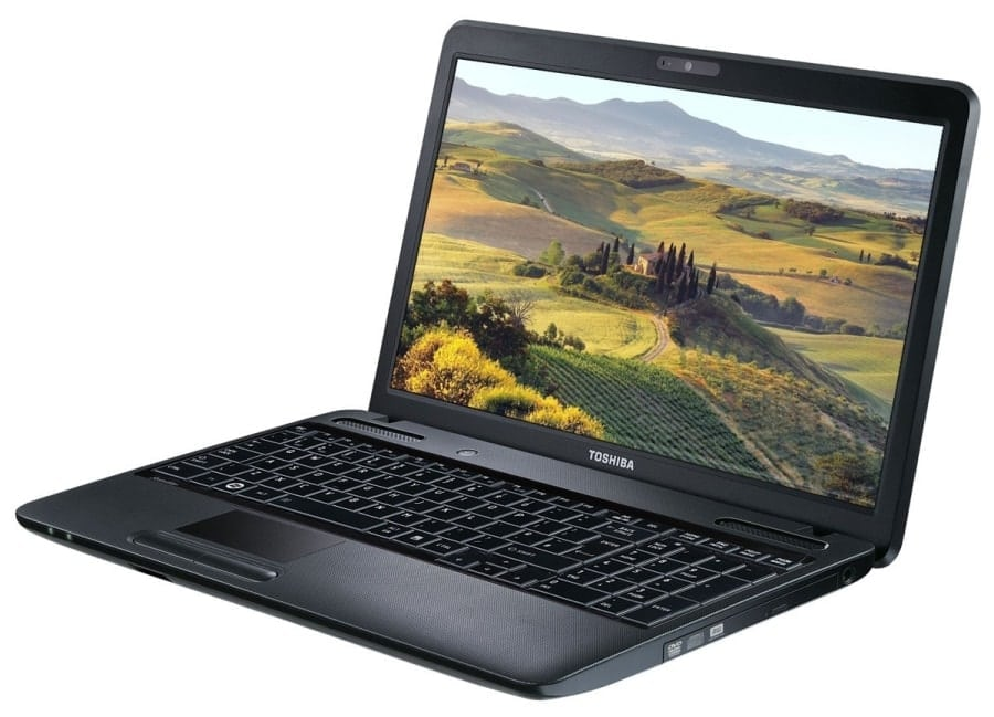 Ноутбук Toshiba для работы и развлечений