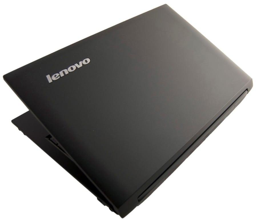Черный ноутбук Леново