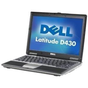 Ноутбук б/у Dell Latitude D430, Экран 12.1, 2 Ядра, RAM-2Gb, 80Gb