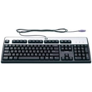 Клавиатура черная USB или PS/2