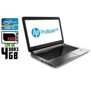 Ноутбук б/у HP Probook 430 G1, Экран 13.3, Core i5 4200U, DDR3-4Gb, SSD, Веб-камера