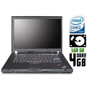 Ноутбук б/у Lenovo ThinkPad T61, Экран 14.1, 2 Ядра, RAM-4Gb