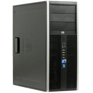 Компьютер б/у HP Compaq 8000 Elite, 4 ядра, DDR3-8Gb, SSD, GeForce GT1030