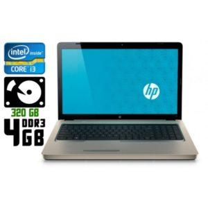 Ноутбук б/у HP G72, Экран 17.3, Core i3, DDR3-4Gb, HDD-320Gb, Веб-камера