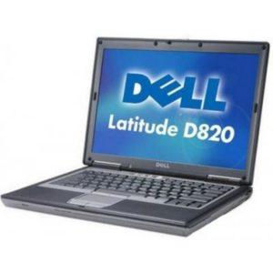 Ноутбук б/у Dell Latitude D820, Экран 15.4, 2 Ядра, RAM-3Gb