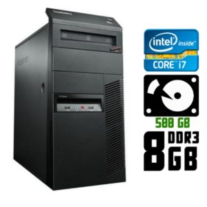 Компьютер б/у Lenovo ThinkCentre M92p, Core i7, DDR3-8Gb, USB 3.0