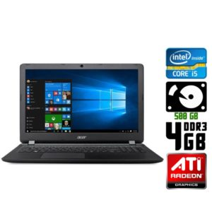 Игровой ноутбук б/у Acer Aspire ES1-572, Диагональ 15.6, Core i5, DDR3-4Gb, Веб-камера, Radeon R7