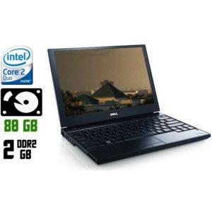 Ноутбук б/у Dell Latitude E6500, Экран 15.4, 2 Ядра, DDR2-2Gb, HDD-80Gb
