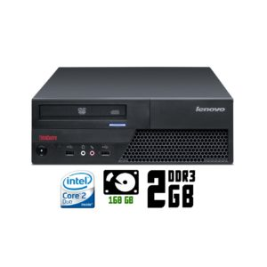 Компьютер б/у Lenovo ThinkCentre M58p SFF, 2 ядра, DDR3-2Gb, HDD-160Gb