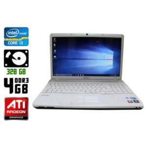 Ноутбук б/у Sony VAIO PCG-71211M, Экран 15.6, Core i3, DDR3-4Gb, Radeon HD5470
