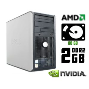 Компьютер б/у Dell Optiplex 740, 2 ядра, RAM-2 Gb, HDD-80 Gb