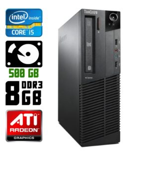 Игровой компьютер б/у Lenovo ThinkCentre M92p SFF, Slim, Core i5 3550, DDR3-8Gb, Radeon HD 7570