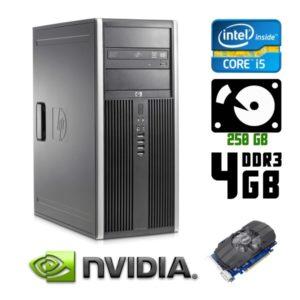 Игровой компьютер б/у HP Compaq 8200 Elite/Core i5/DDR3 4Гб/GeForce GTX 750