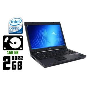 Ноутбук б/у HP Compaq 6710b, Экран 15.4, 2 Ядра, DDR2-2Gb, HDD 160 Gb