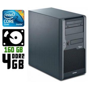 Компьютер б/у Fujitsu Esprimo P2530, ATX корпус, 4 ядра, RAM-4Gb, HDD-160Gb