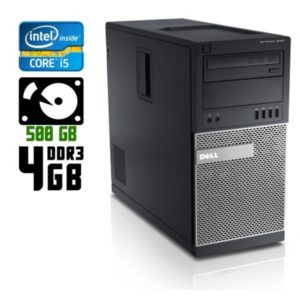 Компьютер б/у Dell Optiplex 9020, Core i5 4594, DDR3-4Gb, HDD-500Gb