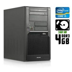 Компьютер б/у Fujitsu Celsius w280, Core i5, DDR3-4 Gb, HDD-160 Gb