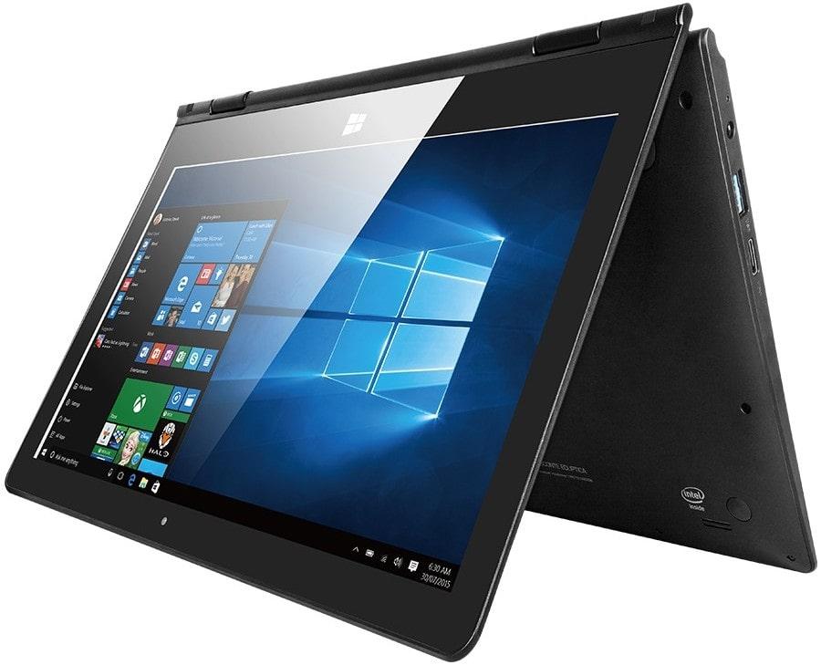 Windows-ноутбук в трансформирующемся корпусе