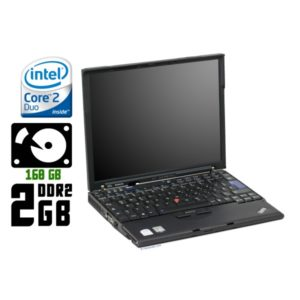 Ноутбук б/у Lenovo ThinkPad X61, Экран 12.1, 2 Ядра, 2 Gb, HDD-160 Gb, 3G