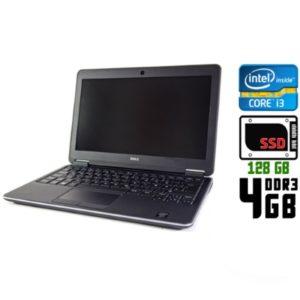 Ноутбук б/у Dell Latitude E7240, Экран 12.5, Core i3, DDR3-4Gb, SSD-128Gb, USB 3.0