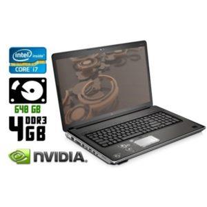 Игровой ноутбук б/у HP Pavilion DV8, Экран 18.4, Core i7, DDR3-4 Gb, HDD-640 Gb, Веб-камера