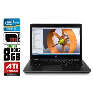 Ноутбук б/у HP ZBook 14 G2, Экран 14.1, Core i7, DDR3-8 Gb, SSD-180Gb, Radeon R7, Веб-камера