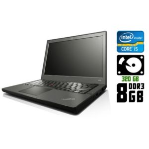 Ноутбук б/у Lenovo ThinkPad X240, Экран 12.5, Core i5, DDR3-8Gb, 320Gb, USB 3.0