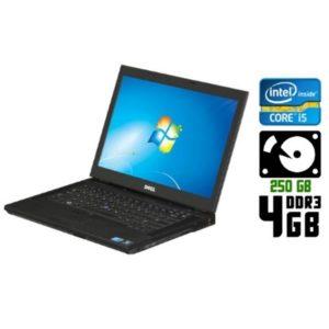 Ноутбук б/у Dell Latitude E6410, Экран 14.1, Core i5, DDR3-4Gb, HDD-250 Gb