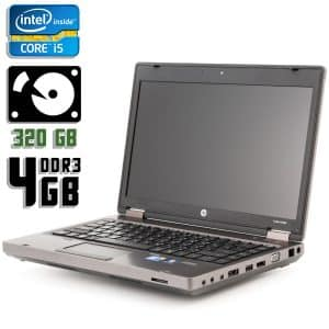 Ноутбук б/у HP ProBook 6360b, Экран 13.3, Core i5 2410M, DDR3-4Gb, HDD-320Gb, Веб-камера