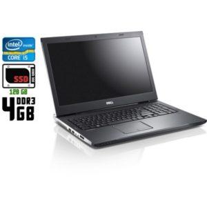 Ноутбук б/у Dell Vostro 3750, Экран 17.3, Core i5, DDR3-4 Gb, SSD-120 Gb, Веб-камера