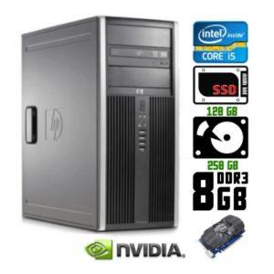 Компьютер б/у HP Compaq 8200 Elite / Core i5 / DDR3 8Гб / SSD-120 Gb / GTX 950 GDDR5