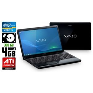 Игровой ноутбук б/у Sony VAIO VPCEH, Экран 15.6, Core i3, DDR3-4 Gb, HDD-320 Gb