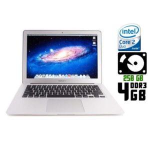 Ноутбук б/у Apple MacBook Air A1369, Экран 13.3, 2 Ядра, DDR3-4ГБ, HDD-250Гб, Веб-камера