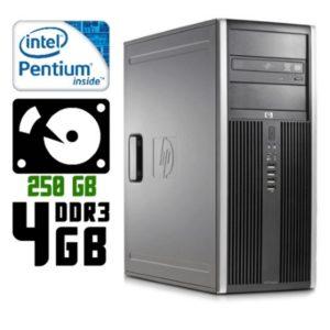 Компьютер б/у HP Compaq 8200 Elite, 2 Ядра, DDR3-4Gb, HDD-250Gb