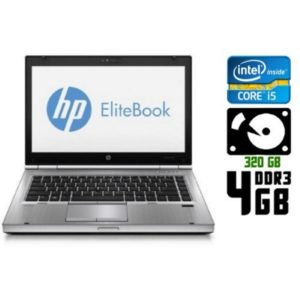 Ноутбук б/у HP EliteBook 2560p, Экран 12.5, Core i5, DDR3-4Gb, HDD-320Gb, Веб-камера