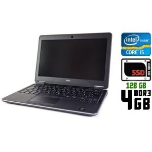 Ноутбук б/у Dell Latitude E7240, Экран 12.5, Core i5, DDR3-4Gb, SSD-128Gb, USB 3.0