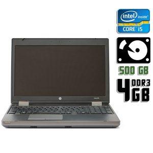 Ноутбук б/у HP Probook 6570b, Экран 15.6, Core i5, DDR3-4Gb, HDD-500Gb, Вебкамера