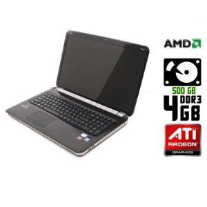 Ноутбук б/у Hp Pavilion Dv7, Экран 17.3, 2 Ядра, DDR3-4 Gb, HDD-500 Gb, Веб-камера