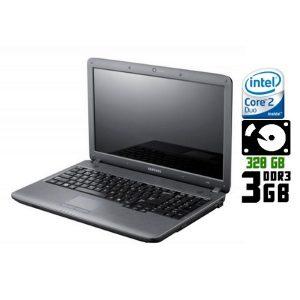 Ноутбук б/у Samsung R530, Экран 15.6, 2 Ядра, DDR3-3Gb, HDD-320Gb, HDMI