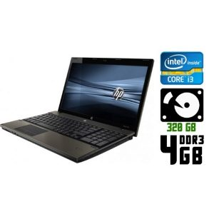Ноутбук б/у HP Probook 4520s, Диагональ 15.6, Core i3, DDR3-4Gb, Веб-камера