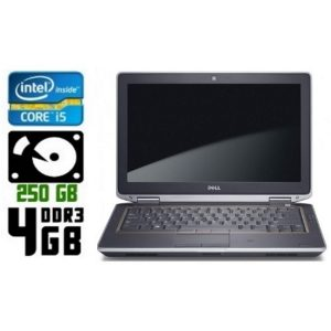 Ноутбук б/у Dell Latitude E6320, Экран 13.3, Core i5 2520M, DDR3-4 Gb, HDD-250Gb, Веб-камера
