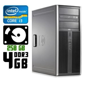 Компьютер б/у HP Compaq 8200 Elite / Core i3 / DDR3 4Гб / HDD-250 Gb /