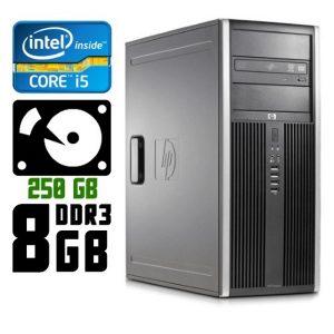 Компьютер б/у HP Compaq 8300 Elite / Core i5 / DDR3 8Гб / HDD-250 Gb /